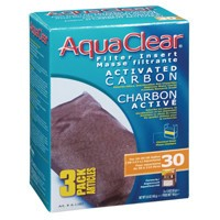 AquaClear 30 Activated Carbon Filter Insert 3 pack, 165 g (5.8 oz)-1