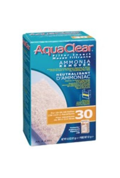 AquaClear 30 Ammonia Remover Filter Insert, 121 g (4.3 oz)