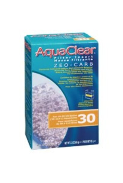 AquaClear 30 Zeo-Carb Filter Insert, 65 g (2.3 oz)