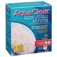 AquaClear 50 Ammonia Remover Filter Insert 3 pack, 429 g (15 oz)-1