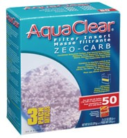AquaClear 50 Zeo-Carb Filter insert, 3 pack, 270 g (9.5 oz )-1