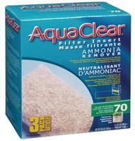 AquaClear 70 Ammonia Remover Filter Insert 3 pack, 1038 g (36.6 oz)-1
