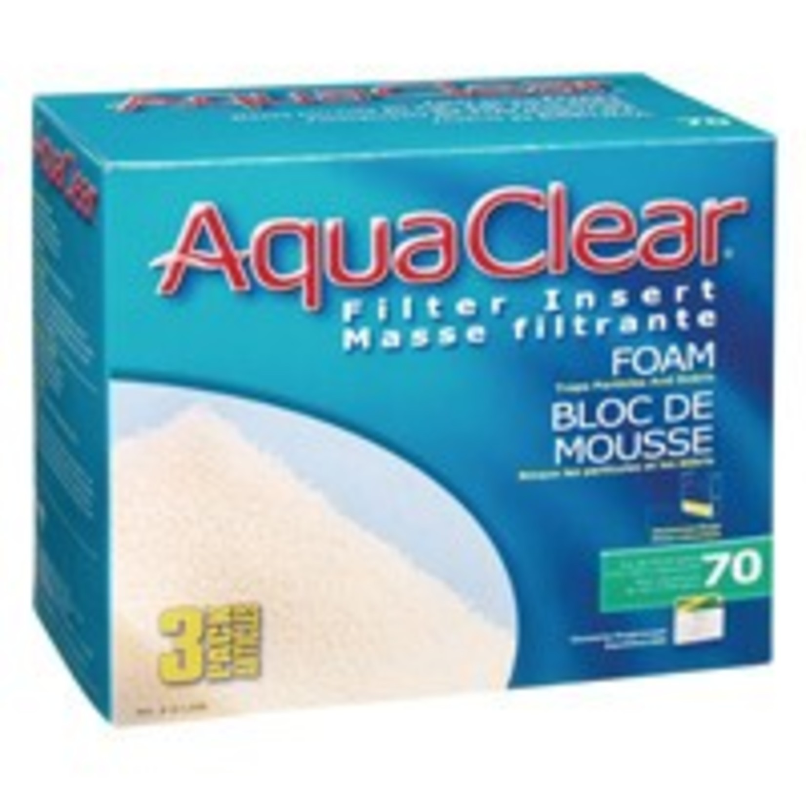 AquaClear 300 Foam Filter insert-V