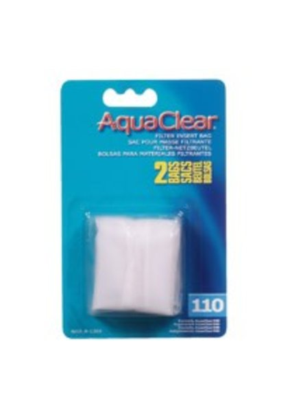 AquaClear Nylon Filter Media Bags for AquaClear 110 Power Filter, 2 pack