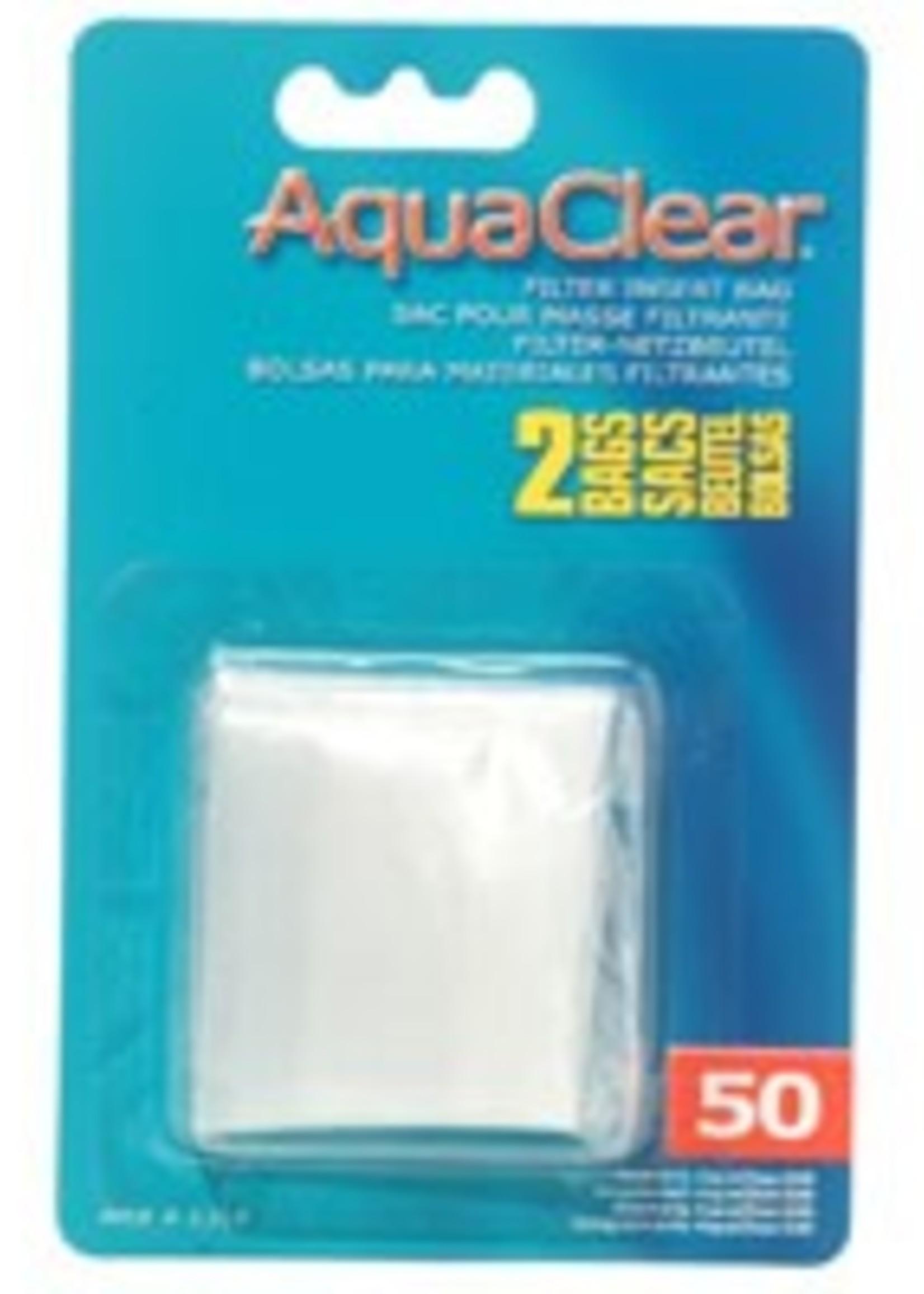AquaClear Nylon Filter Media Bags for AquaClear 50 Power Filter, 2 pack