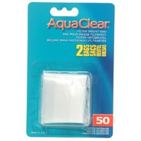 AquaClear Nylon Filter Media Bags for AquaClear 50 Power Filter, 2 pack-1