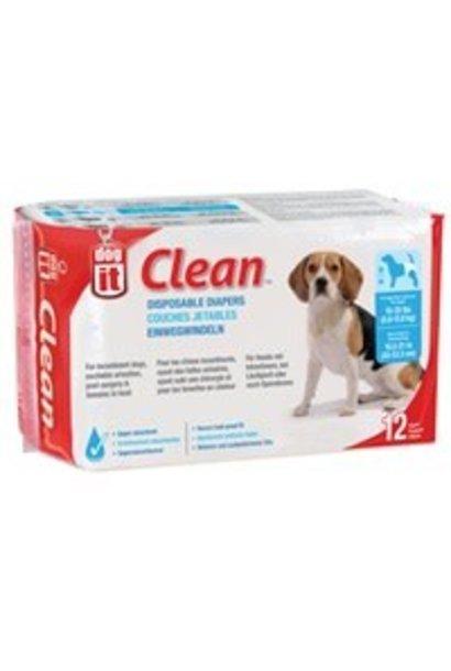 Dogit Disposable Diapers, 12-pack Medium