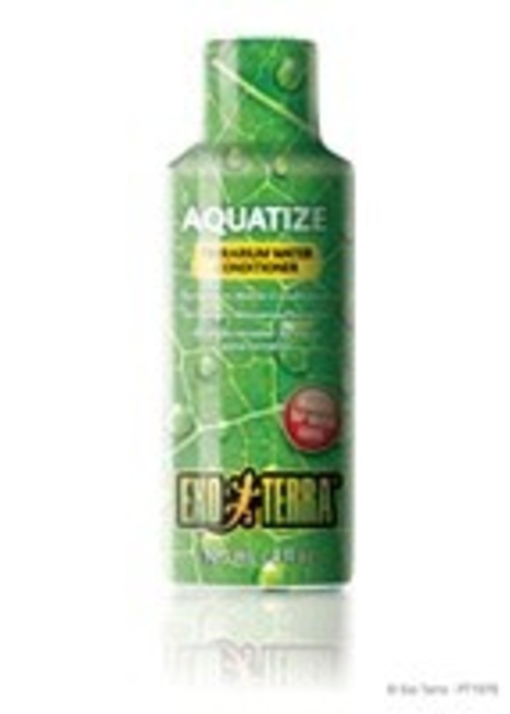 Exo Terra Aquatize Terrarium Water Conditioner - 120 ml