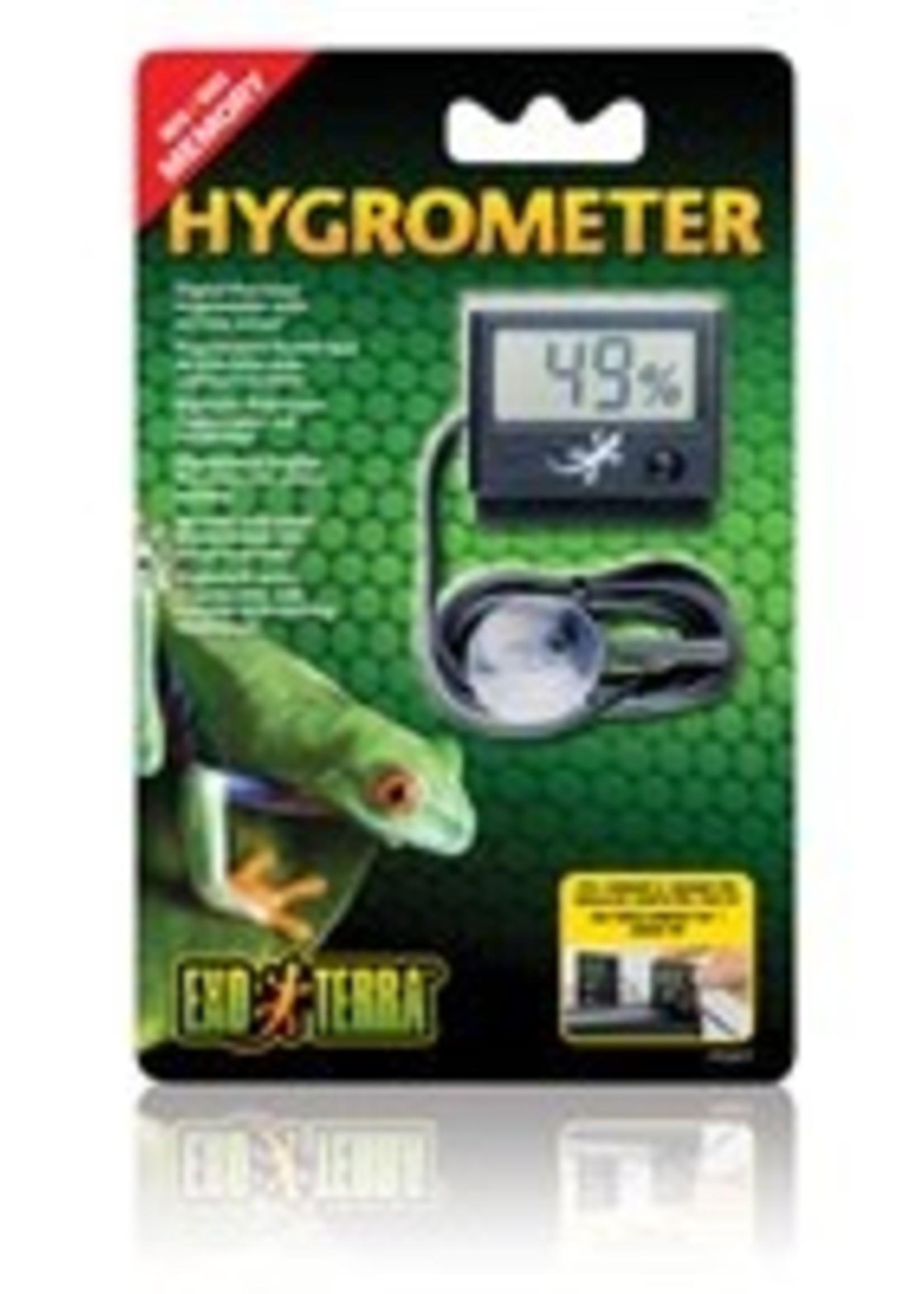 Exo Terra Digital Hygrometer w/Probe