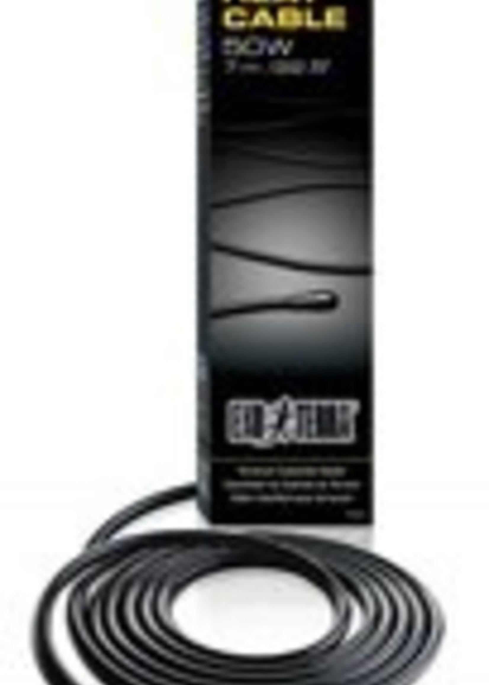 Exo Terra Heater Cable, 23 Feet, 50W