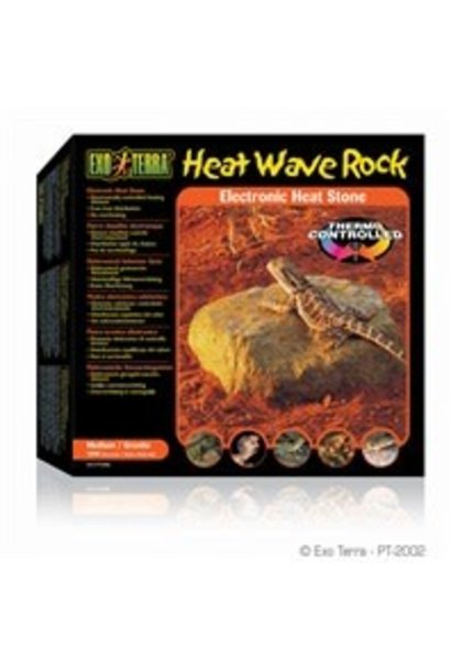 "Exo Terra Heat Wave Rock - Medium - 15.5 x 15.5 cm (6 x 6"") - 10 W"