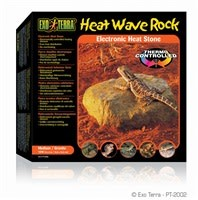 "Exo Terra Heat Wave Rock - Medium - 15.5 x 15.5 cm (6 x 6"") - 10 W-1"