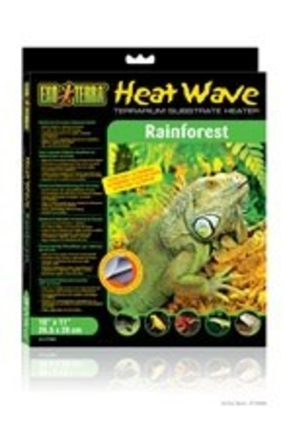 "Exo Terra Heatwave Rainforest, 12W, 110V, 11"" x 17"