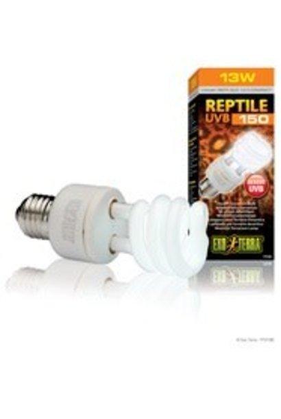 Exo Terra Repti-Glo 10.0, Desert Terrarium Lamp, Compact Fluorescent, 13W