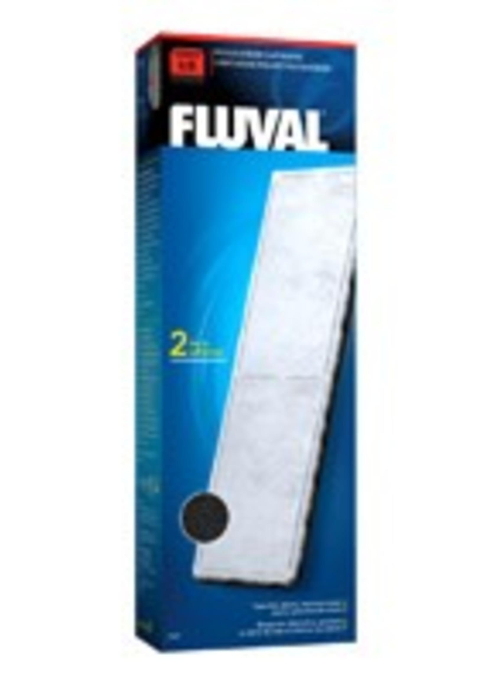 "Fluval Fluval ""U3"" Poly/Carbon Cartridge, 2 pack"