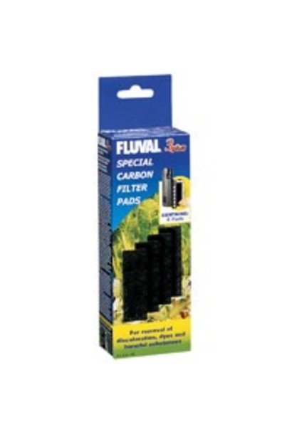 Fluval 3 Plus Special Carbon Pads, 4 pack