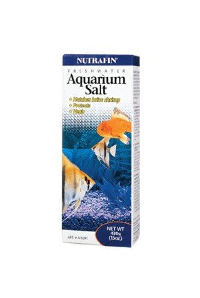 Nutrafin Aquarium Salt, 430 g (15 oz)
