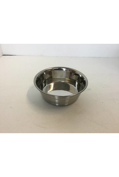 Stainless Steel Anti-Skid Bowl - Heavy - Stripes 18oz