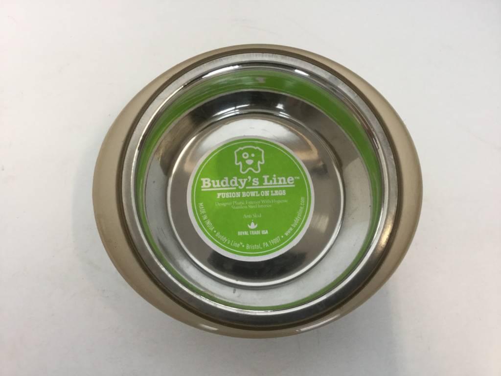 Buddy's Line Brown Small Dog Bowl 473mL-2