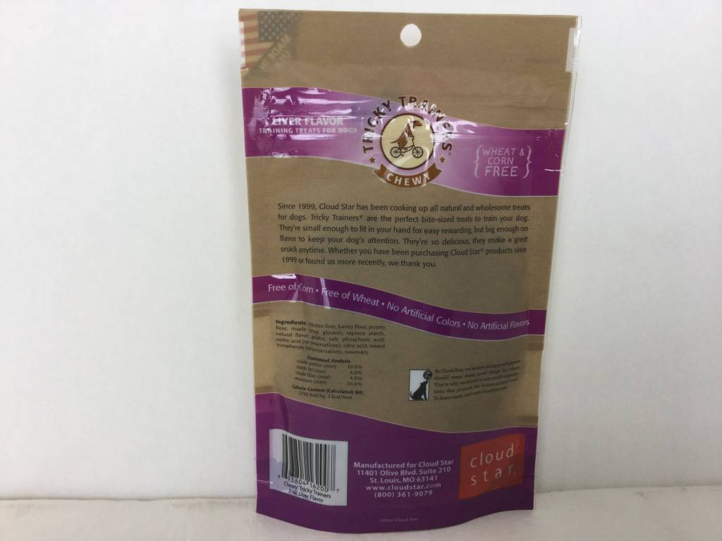 Chewy Tricky Trainers Chicken Liver 5oz-2