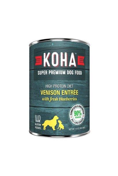 Koha High Protein Diet 90% Venison w/ Blueberries