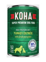 Koha Koha High Protein Diet 90% Turkey w/ Pumpkin