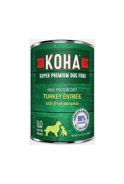 Koha High Protein Diet 90% Turkey w/ Pumpkin