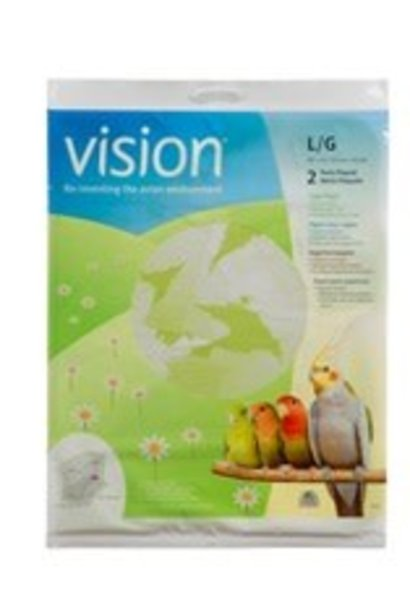 """Vision Cage Paper, Large, 2 pack, 720 x 360 mm (28 x 14"""")"""