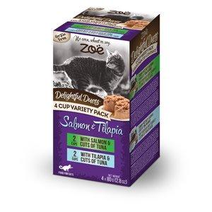 Zoe Delightful Duets Salmon & Tilapia 4cup Variety-1