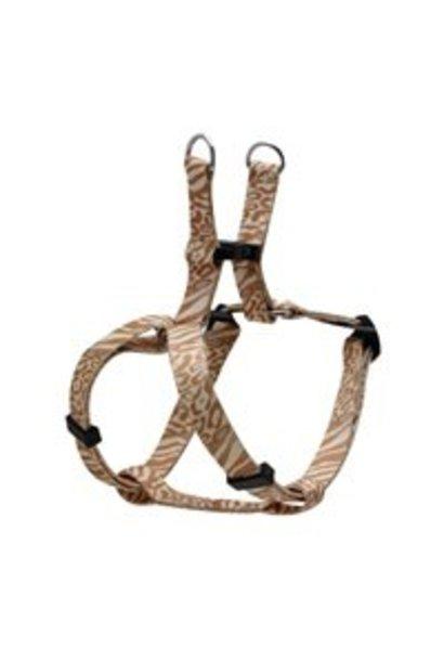 "TD - Dogit Adjustable Harness Small Animal Print, 5/8"" x 14""-20"""