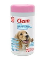DogIt Dogit Clean Ear Wipes, Unscented, 70pcs