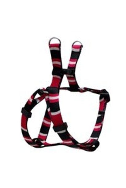 """TD - Dogit Adjustable Harness Extra Small Cobra Pink 5/8"""" x 11""""-14"""""""
