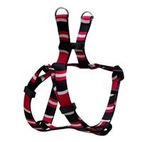"""TD - Dogit Adjustable Harness Extra Small Cobra Pink 5/8"""" x 11""""-14""""-1"""