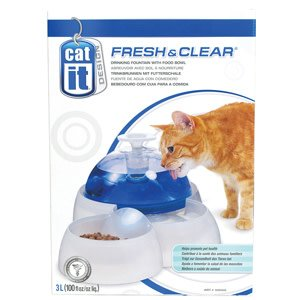 Fresh and Clear Drinking Fountain for Cats and Puppies-1