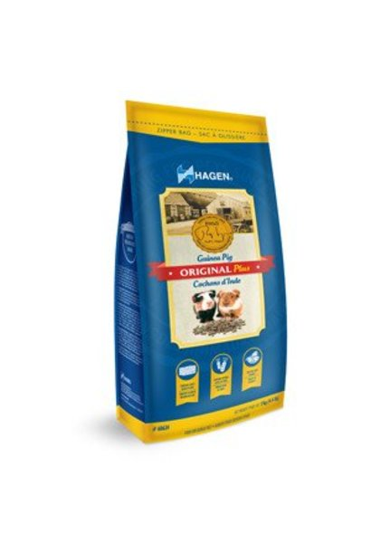 Hagen Original Plus Guinea Pig Food - 2 kg (4.4 lb)