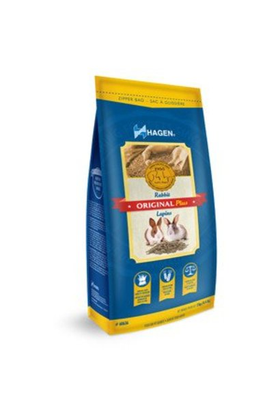 Hagen Original Plus Rabbit Food - 2 kg (4.4 lb)