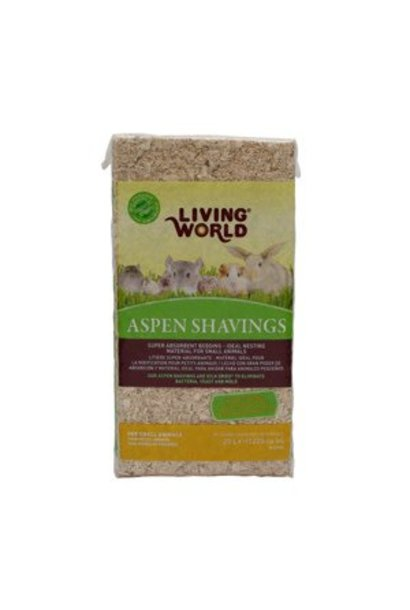 Living World Aspen Shavings 1200 cu in
