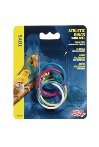 LW Athletic Rings W/Bell-V