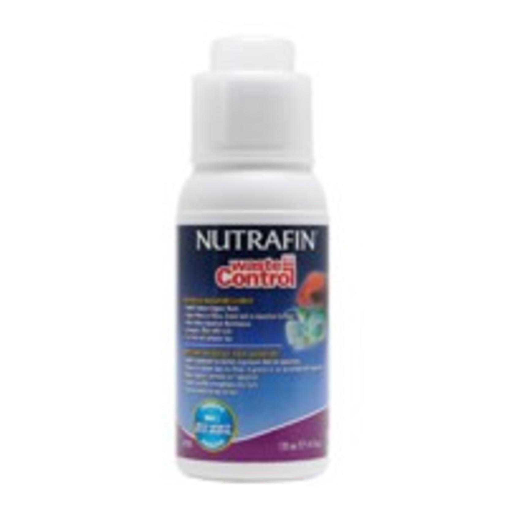 Nutrafin Nutrafin Waste Control, Biological Aquarium Cleaner, 120 mL (4 fl oz)