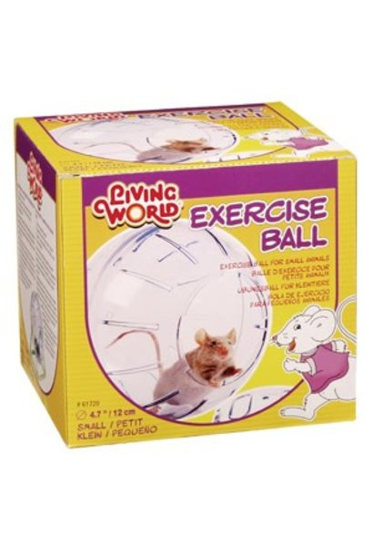 Living World Exercise Ball with Stand - Small