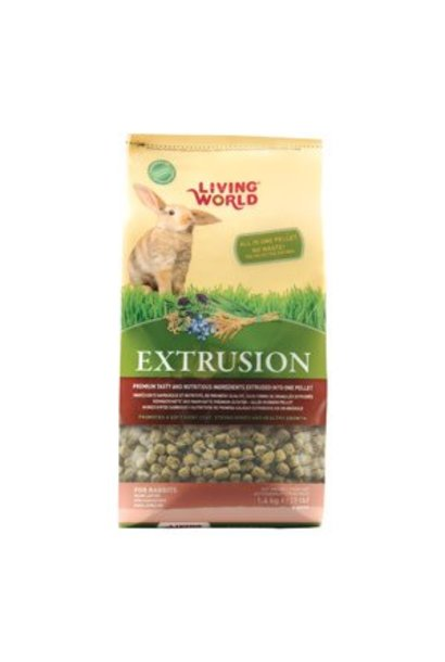 Living World Extruded Rabbit Food 15kg