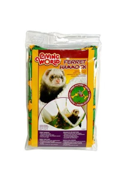 "Living World Ferret Hammock - Green - Small - 41 cm (16"")"