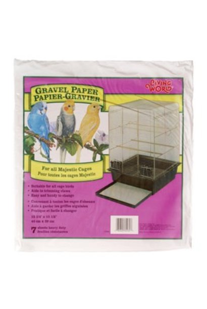 """Living World Gravel Paper, 15-3/4"""" x 15-1/2"""" (8/pack)"""