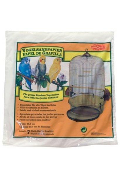 """Living World Gravel Paper, Large, 8 pack, 35.5 cm (14"""") diameter"""