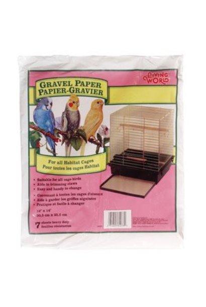 """Living World Gravel Paper, Small, 8 pack, 30 cm x 35.5 cm (12 x 14"""")"""