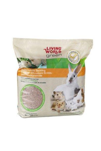 Living World Green Biodegradable Bedding - 50 L (3050 cu in)