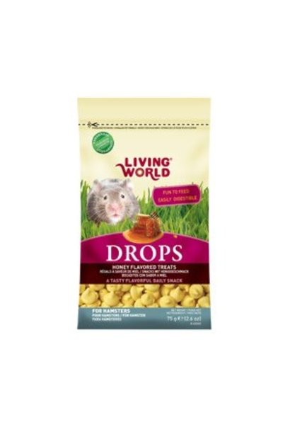 Living World Hamster Treat - Honey Flavour - 75 g (2.6 oz)