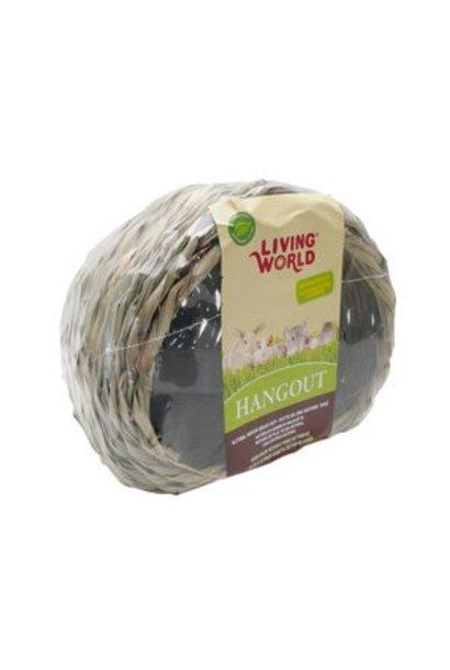 """Living World Hangout Grass Hut - Large - 25.4 x 25.4 x 21.6 cm (10 x 10 x 8.5"""")"""
