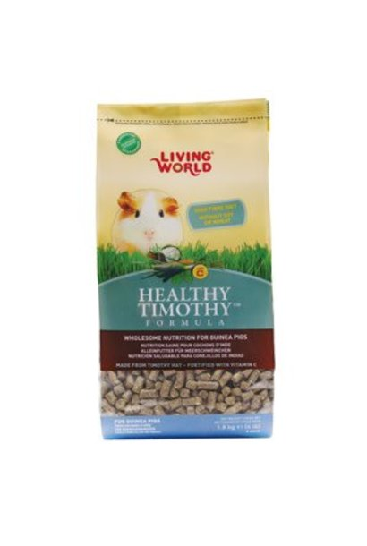 Living World Healthy Timothy, Guinea Pig 4 lb