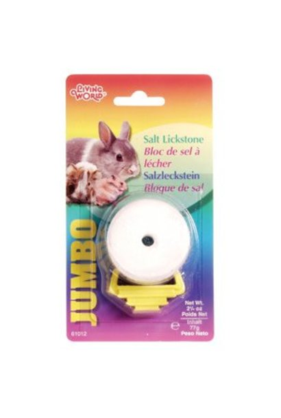 Living World Jumbo Salt Lickstone - 77 g (2.7 oz)